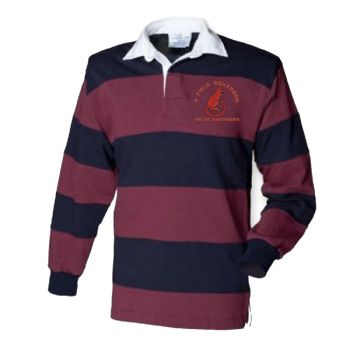 4 Field Squadron Embroidered Rugby Shirt